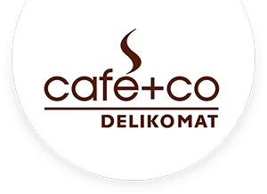 Cafe+Co DELIKOMAT Logo
