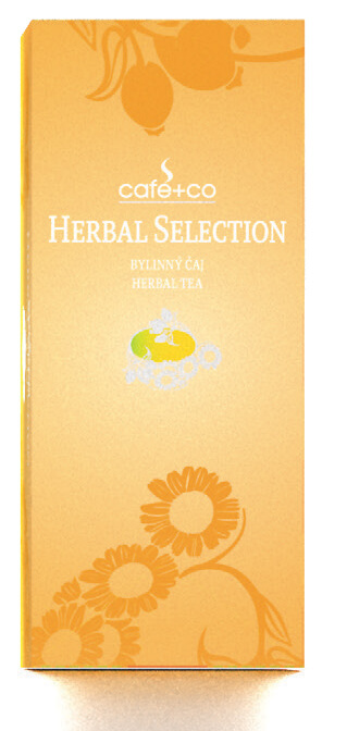 Porcovaný bylinný čaj HERBAL SELECTION